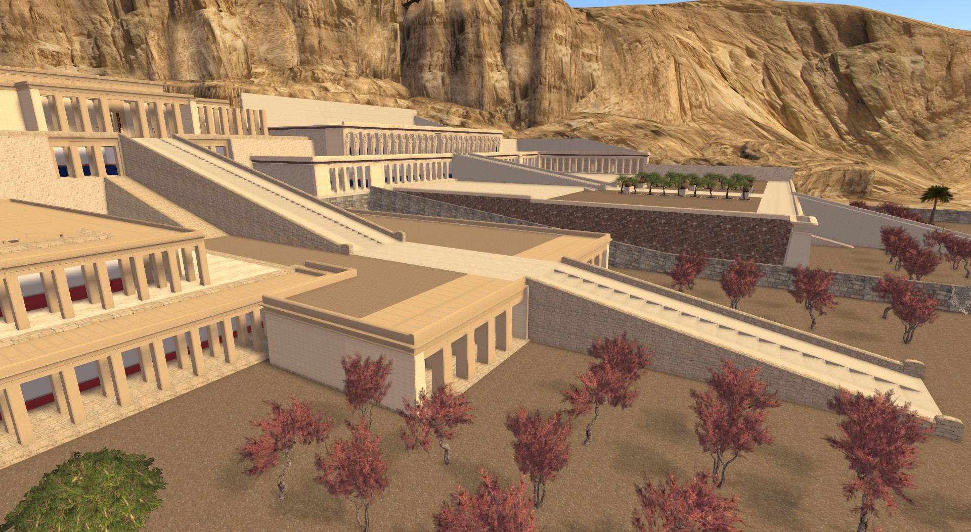 Thutmose III temple, reconstruction due to new insights from Campaigns 2012-2013