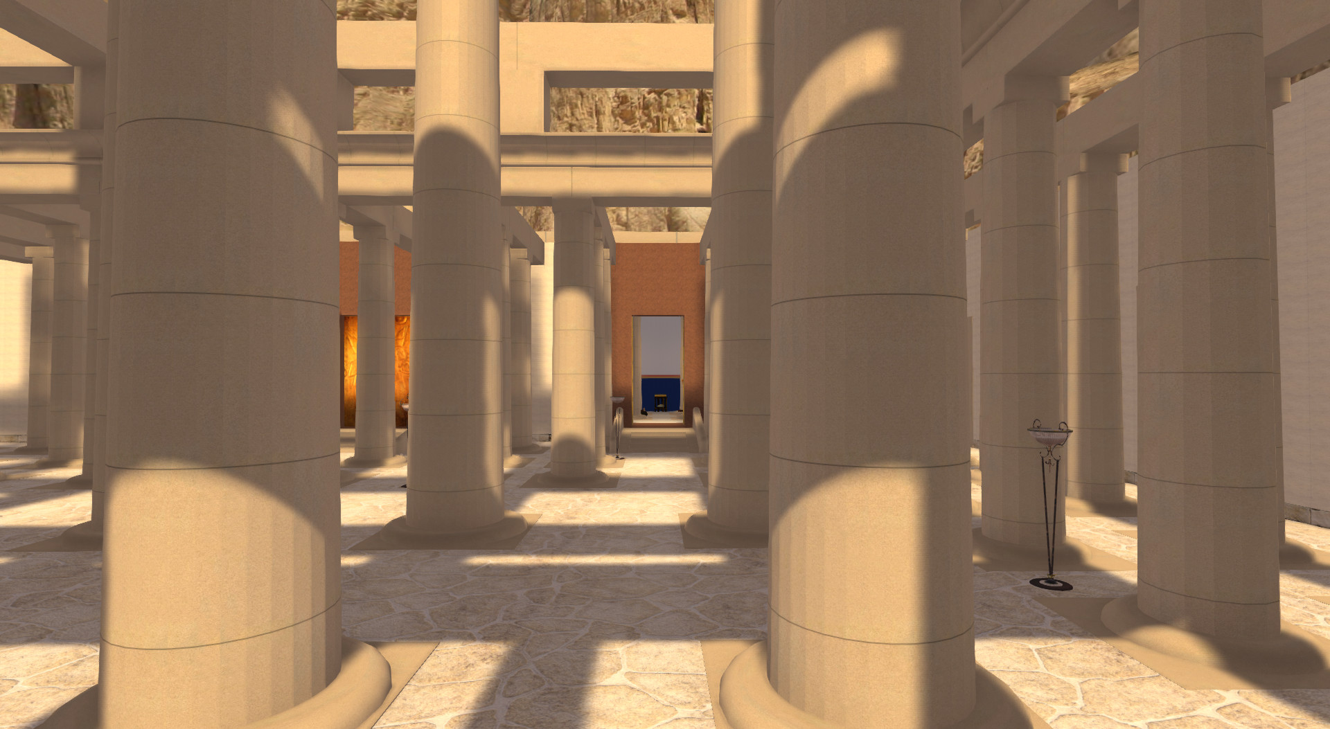 Thutmose III temple - Reconstruction due to new insights from Campaigns 2012-2013
