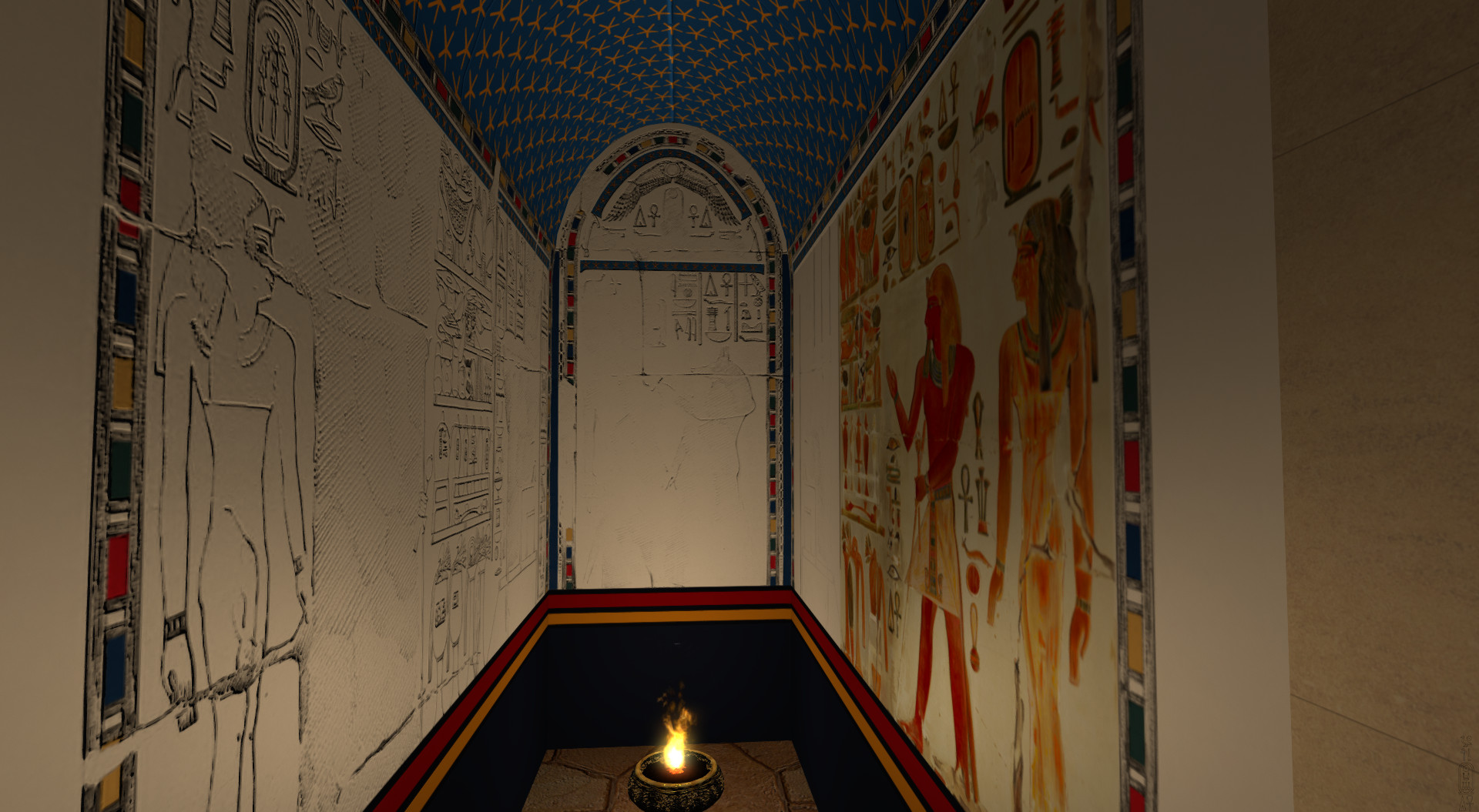 Upper Anubis Chapel (the niche)