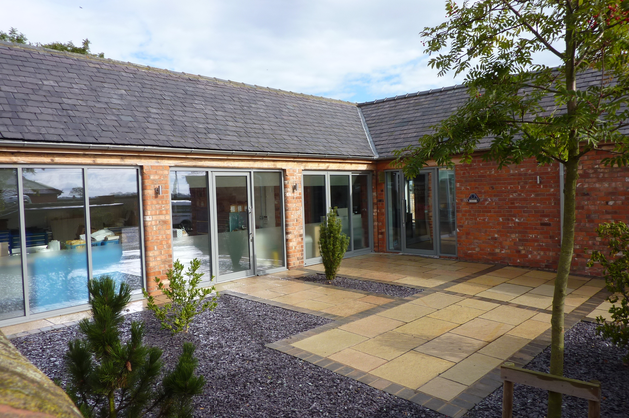 Conversion Of Disused Barn Into Offices Sigglesthorne