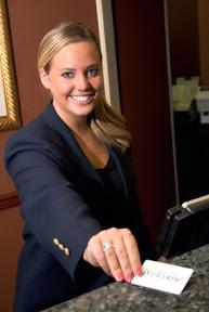 receptioniste