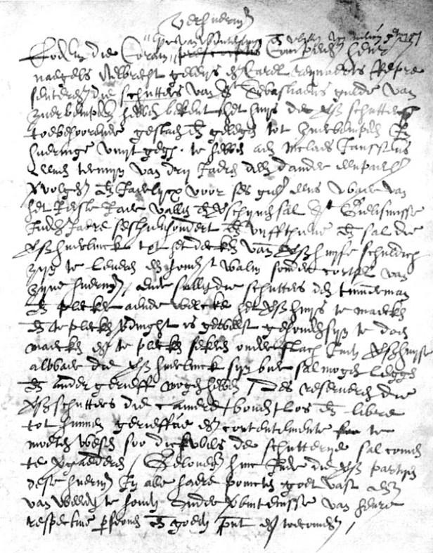 2007-11-23 -- Zijsprokkel Schutters in Zuurbemde -- Originele tekst extract