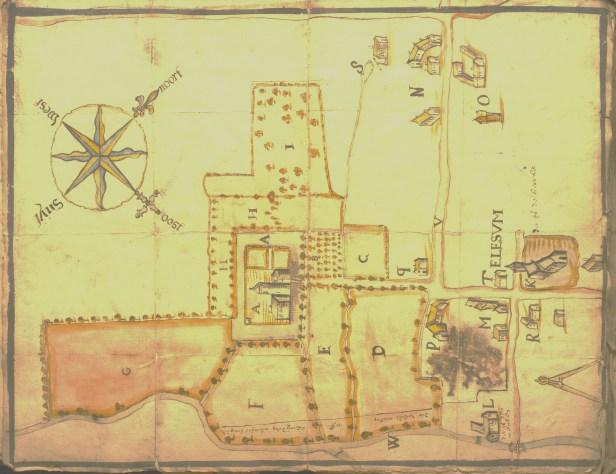 Eliksem SG 7632 f. 103 kaart 1737