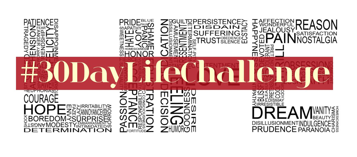 30 Day Life Challenge, life experience