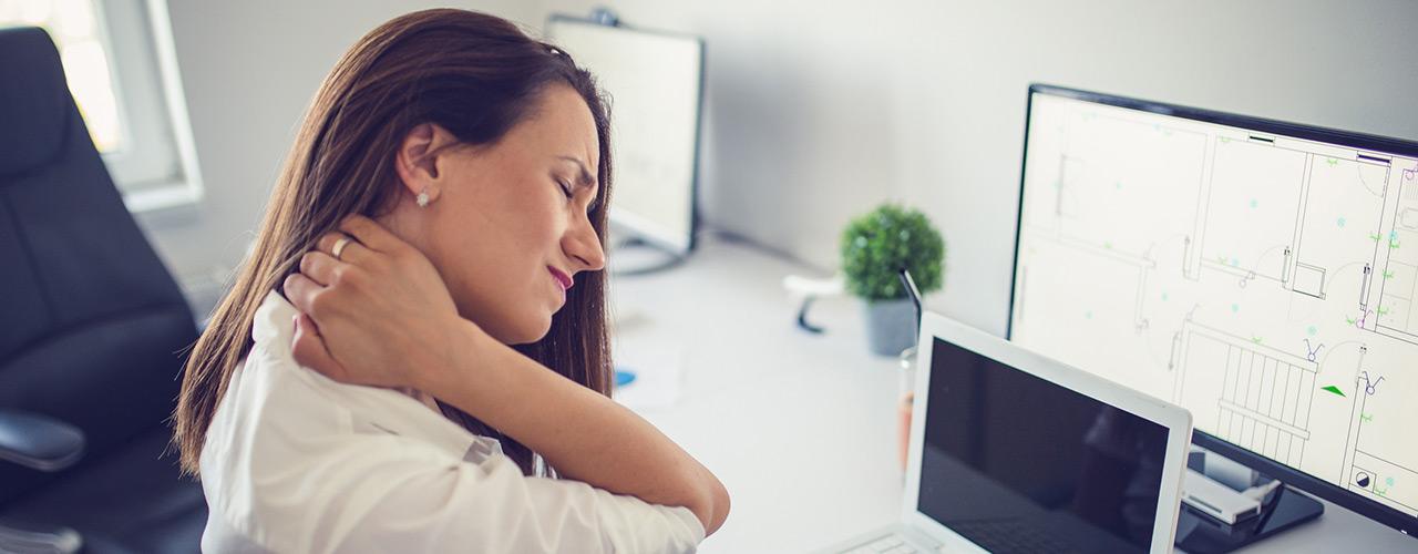Massage Therapy treats neck pain
