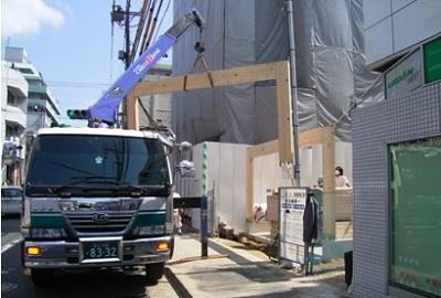 木造 門型 ラーメンフレーム 納品実績 賢 東京都江戸川区 2