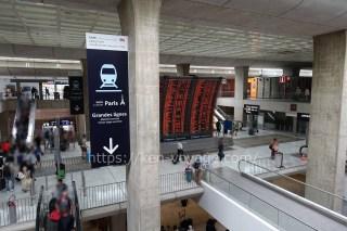 Aéroport Charles-de-Gaulle 2 - TGV