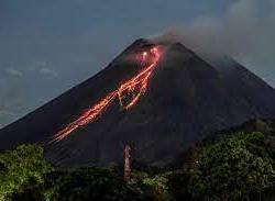 Gunung Merapi Alami 203 Kali Gempa Guguran Dalam Sehari