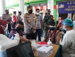 Kapolri Tekankan TNI-Polri Bersinergi Wujudkan Target Vaksinasi