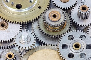 metal gear cogwheels for machinery and equipment