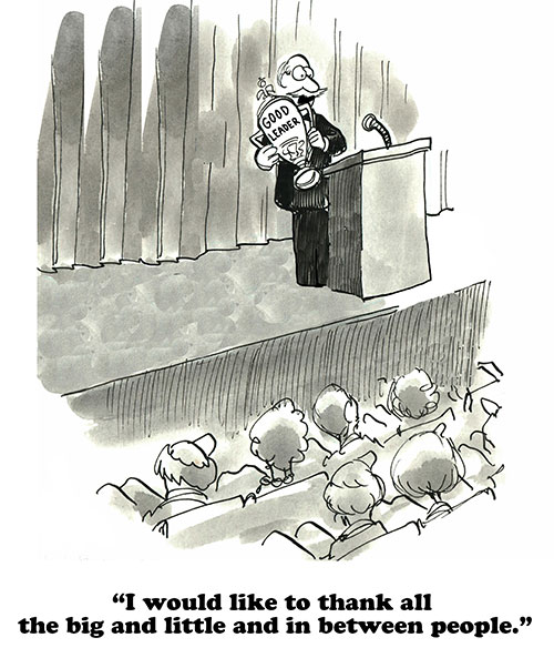 Leader Cartoon