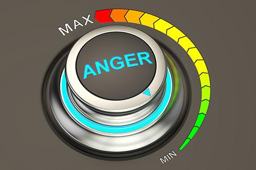 Anger volume control