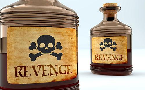 Revenge poison bottles