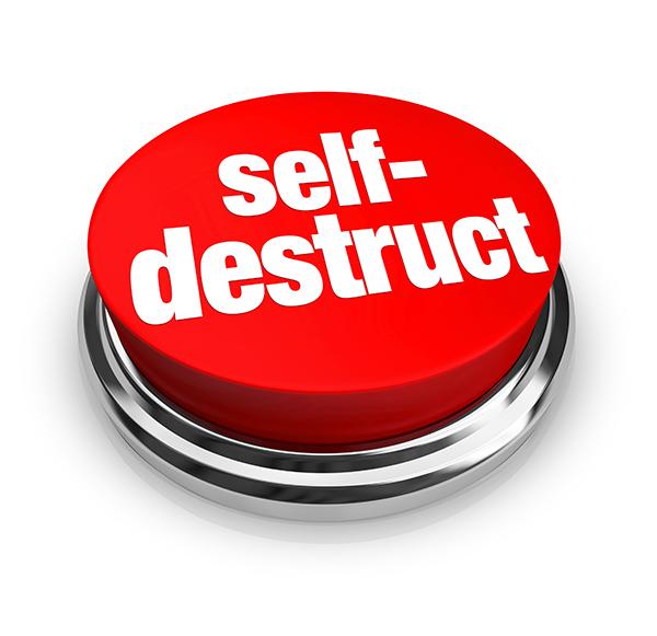 Self destruct Button