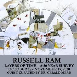 Russell Ram: Layers of Time – A 50 Year Survey