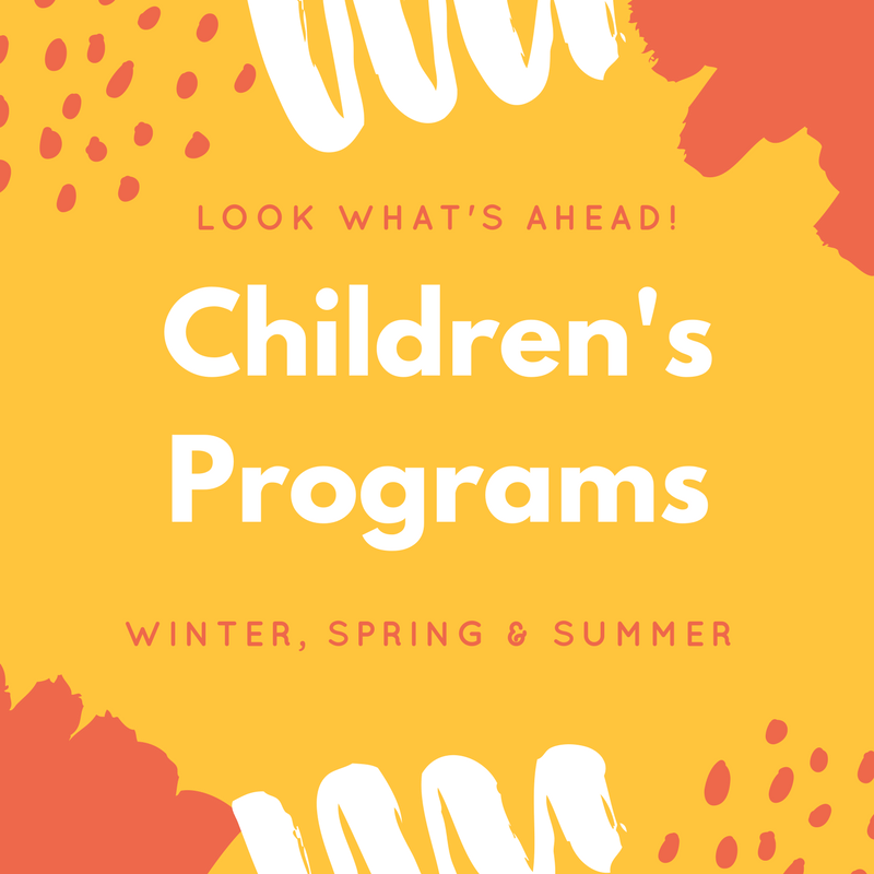 Upcoming Children's Programs & Camp Invention 2018