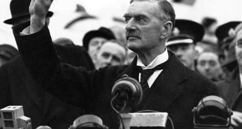 EU Deal Brexit Deal by Boris Johnson a little to close to Neville Chamberlain