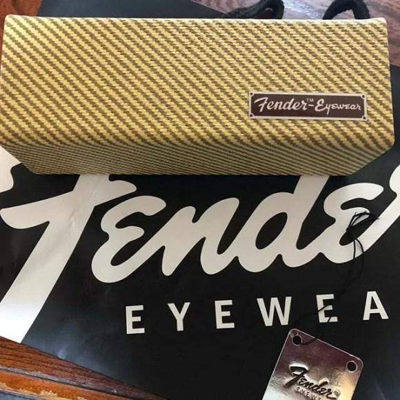 #fender のメガネ買ったんだけど、このケースにシビれたわ#fendereyewear