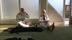 Lehrgang mit Thomas Witti und Michael Ibers im KenBuKai Dojo