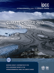 IPCC 5th Assesssement Report (AR5) cover
