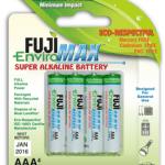 Fuji Makes Greener Alkaline Batteries