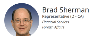 Brad Sherman political influence