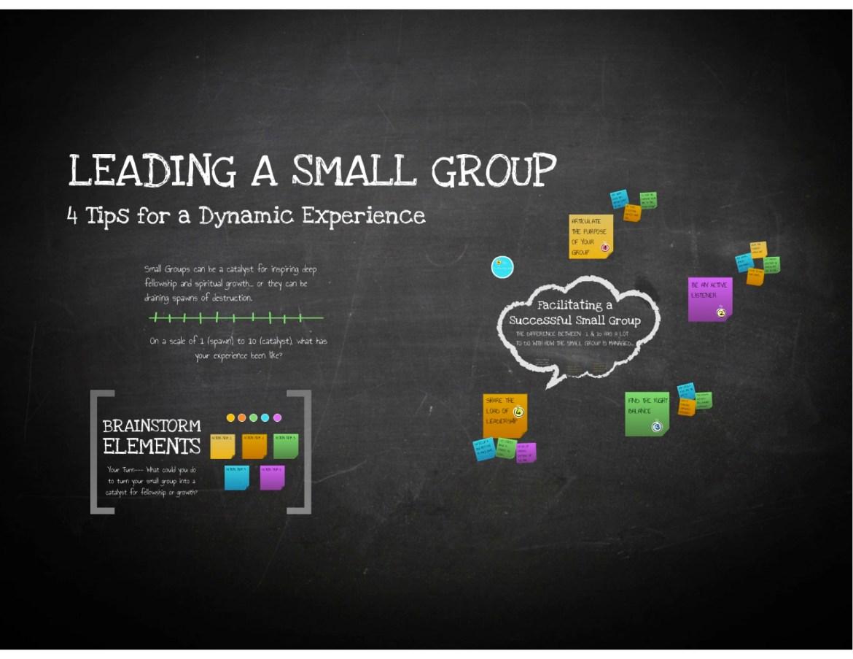 LeadingASmallGroup