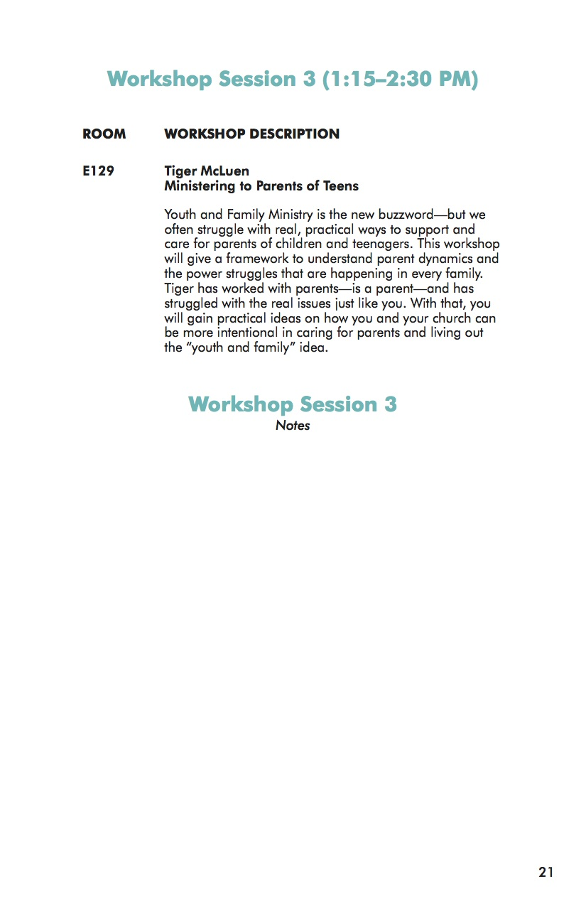 NEXT Conference 2014 Workbook Session 3-2
