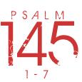 Psalm145-1-7
