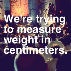 Textbox-weight in centimeters