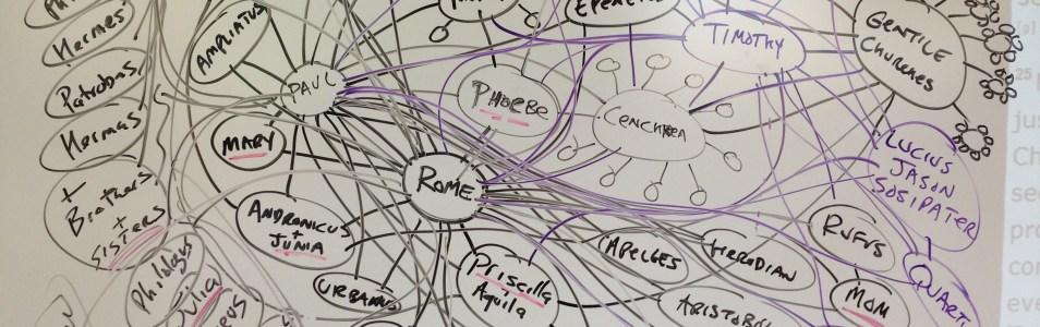 Latest Romans 16 network artwork