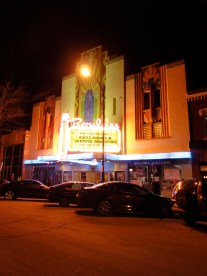 Boulder Theater at Night