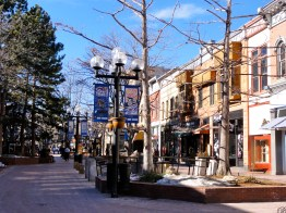 Pearl Street in Winter