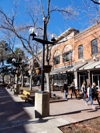 Pearl Street in Winter