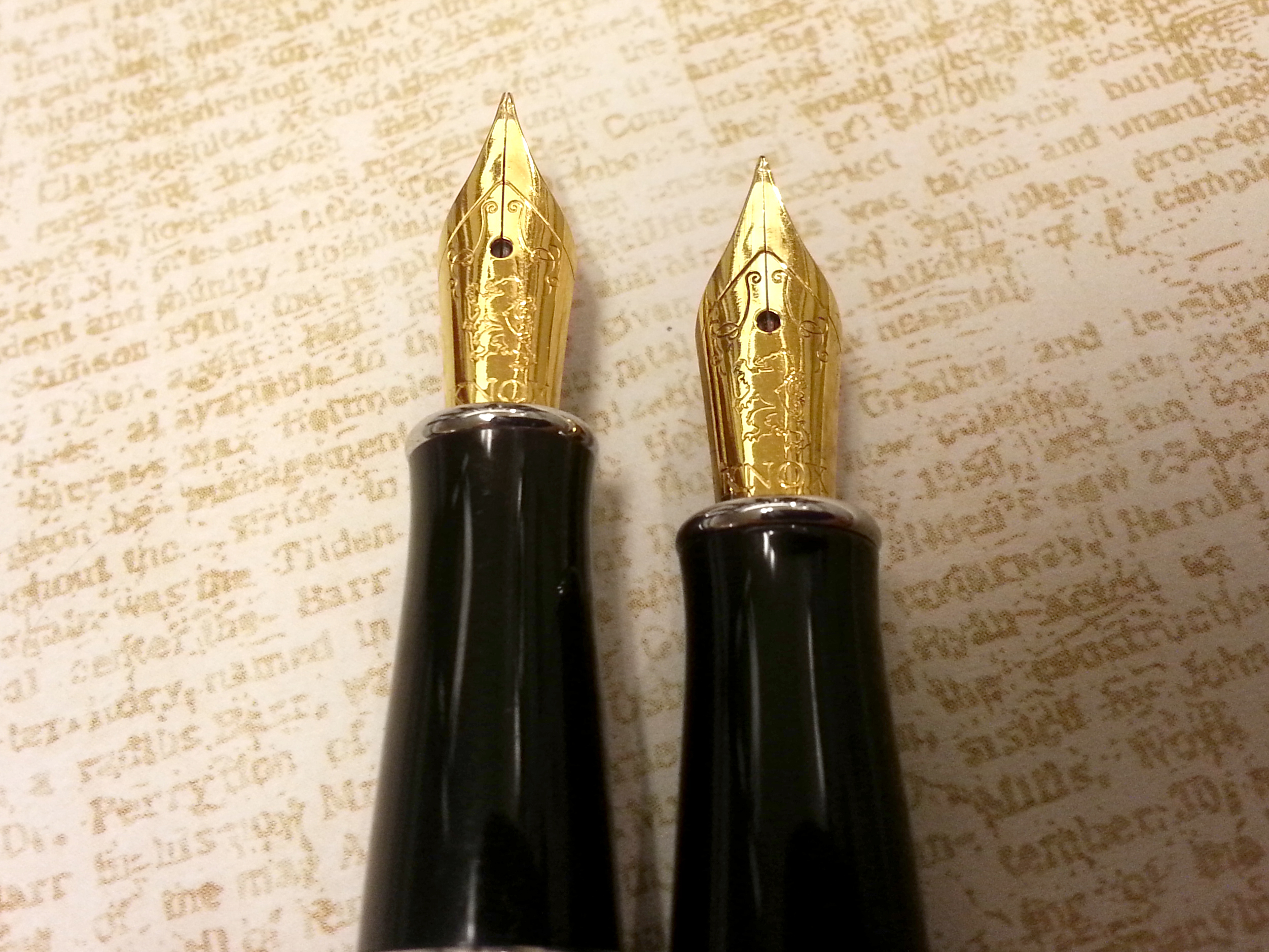 Knox Galileo Fountain Pen Nibs (Extra Fine)