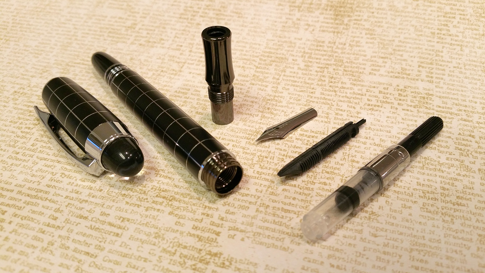 "Baoer 79 ""Skywalker"" Fountain Pen (Disassembled)"