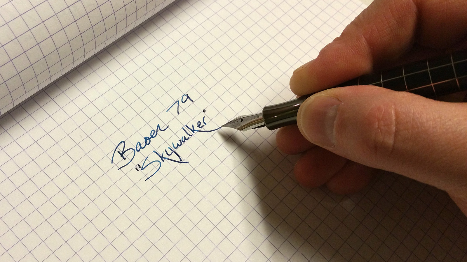 "Baoer 79 ""Skywalker"" Fountain Pen in Action"
