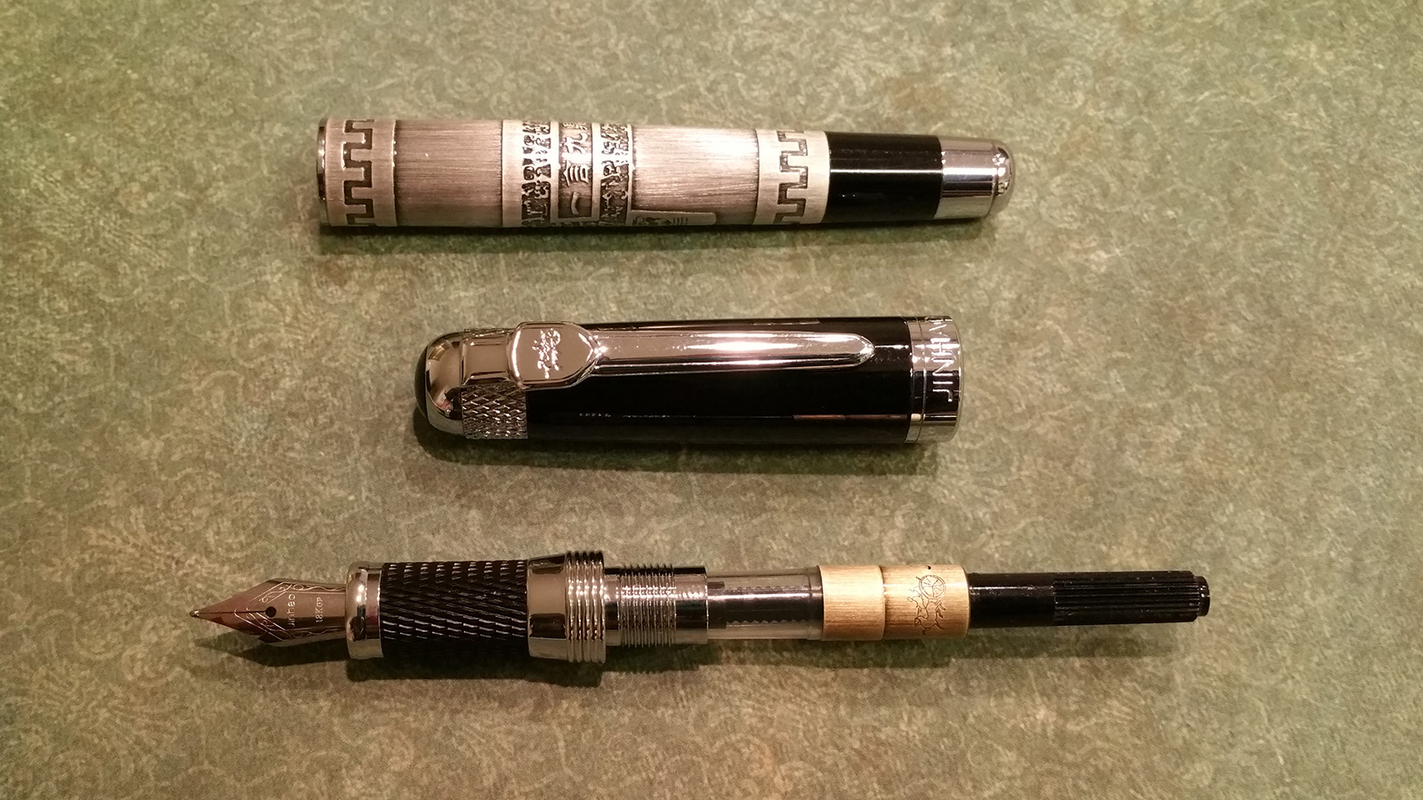 "Jinhao 189 ""Great Wall"" Fountain Pen Disassembled"