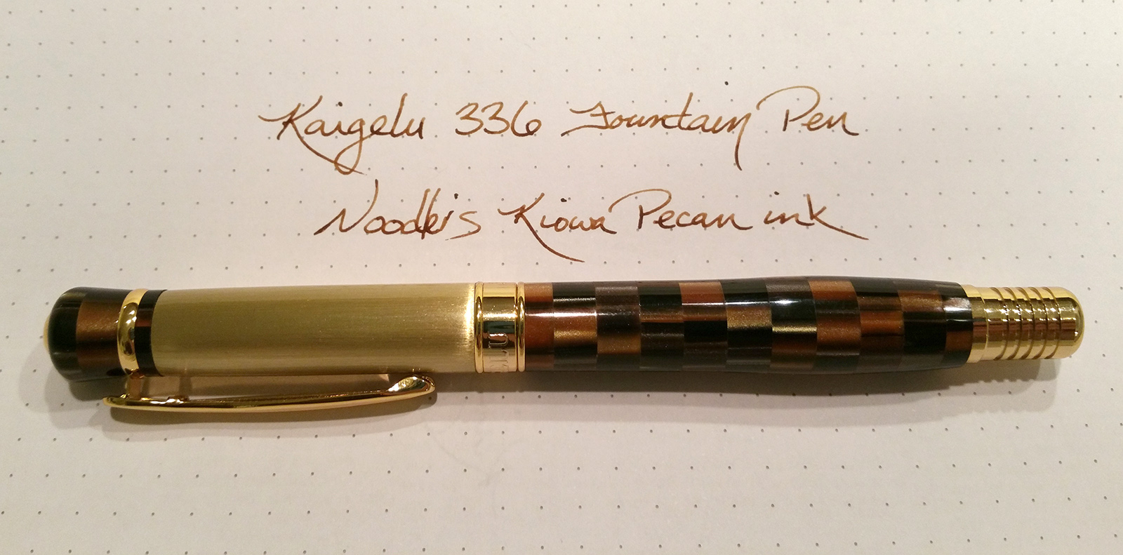 Kaigelu 336 Fountain Pen and Writing Sample