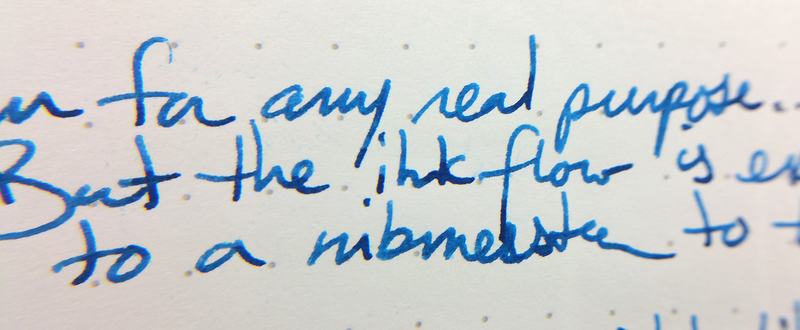 Baoer 388 Fountain Pen writing sample