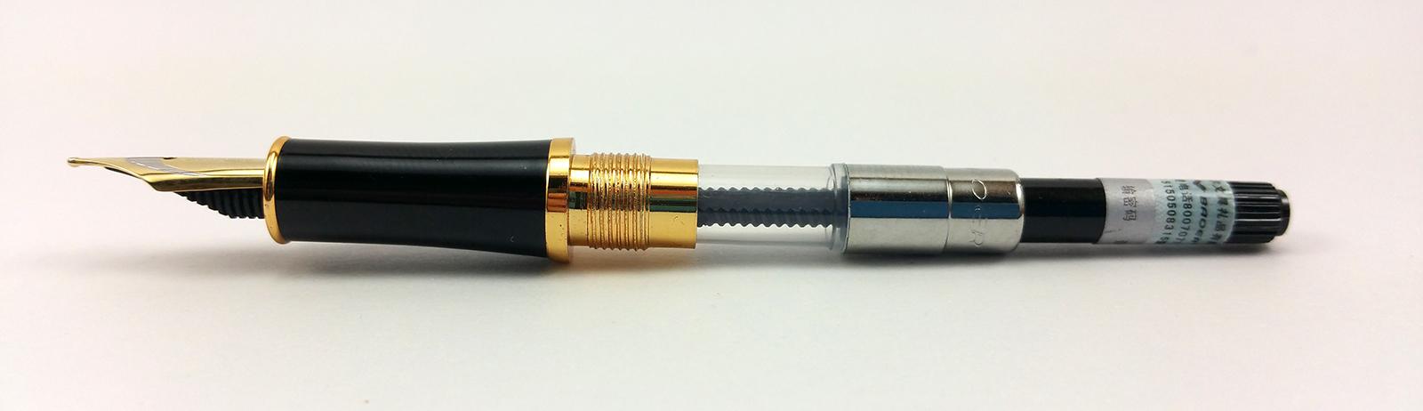 Baoer 388 Fountain Pen Internals (Nib, Section, Converter)