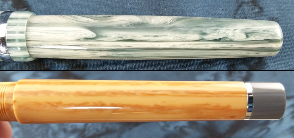 Think Couture Fountain Pens (Vacation and Violino) Body Materials