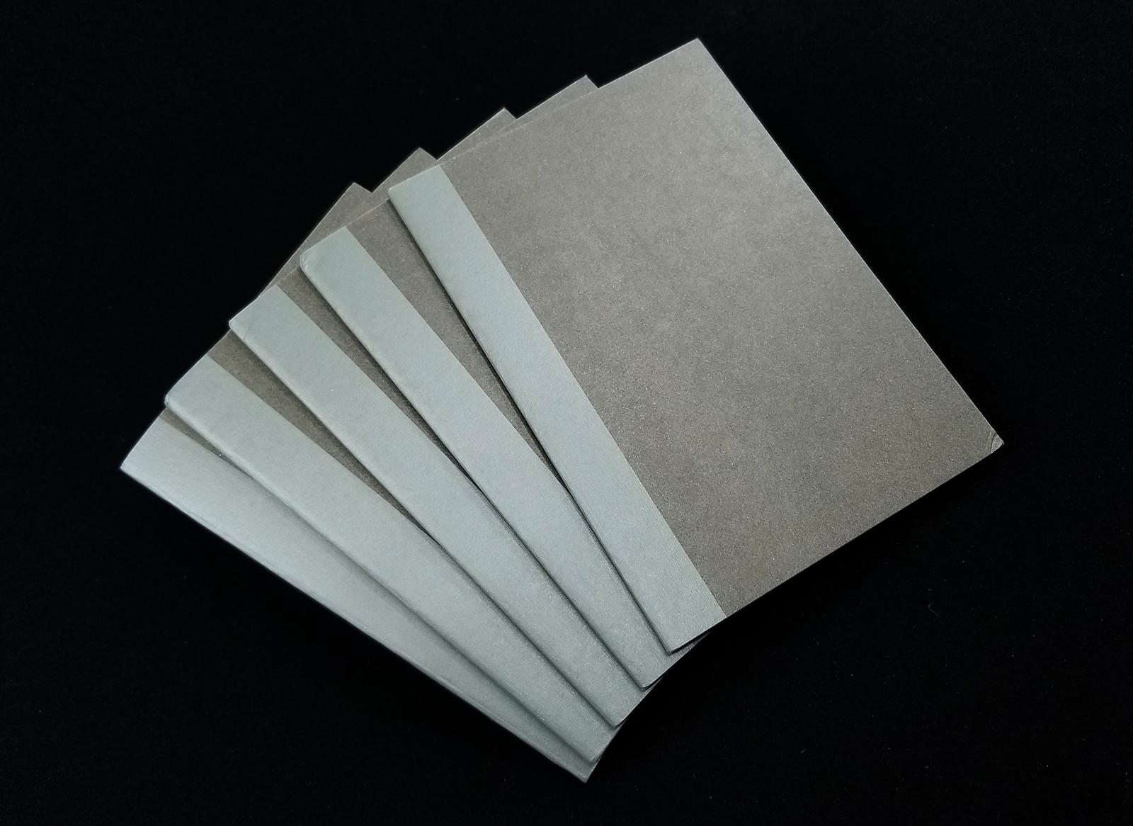 Details about  /Muji Notebook Fastener Pocket