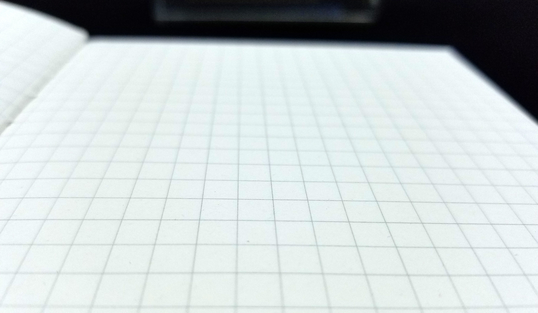 muji a6 grid notebook review