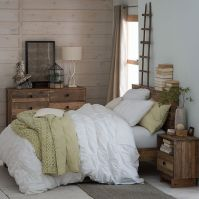 Reclaimed wood bed and Furniture