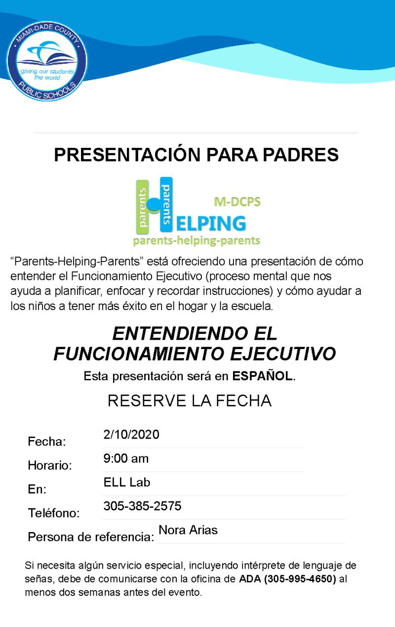 Parent Meeting Invitation Spanish