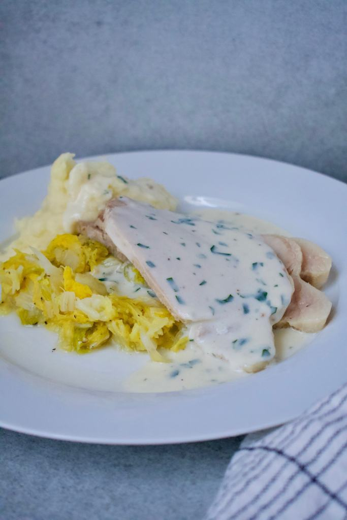 Traditional Irish Boiled Bacon and Cabbage Prepared by KendellKreations