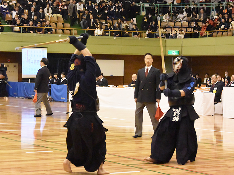 3回戦 九州学院(熊本)×磐田東(静岡)一気に逆転を果たす