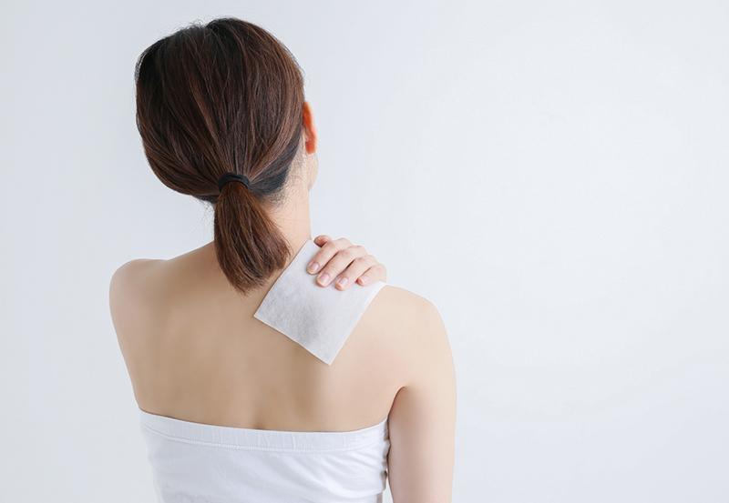 肩・首のストレッチ