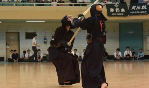 全日本学生選手権大会 決勝戦で矢野選手が制する